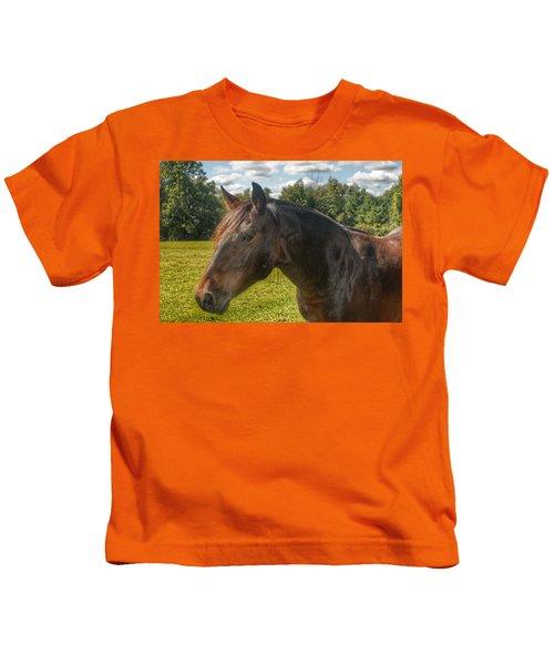1001 - Brown Beauty I  Kids T-Shirt