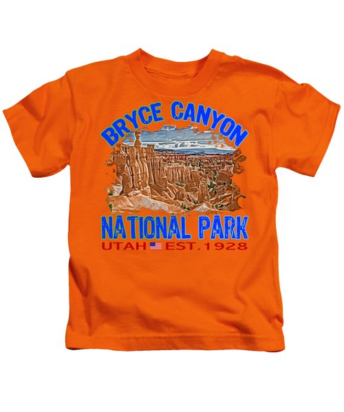 Bryce Canyon National Park Kids T-Shirt