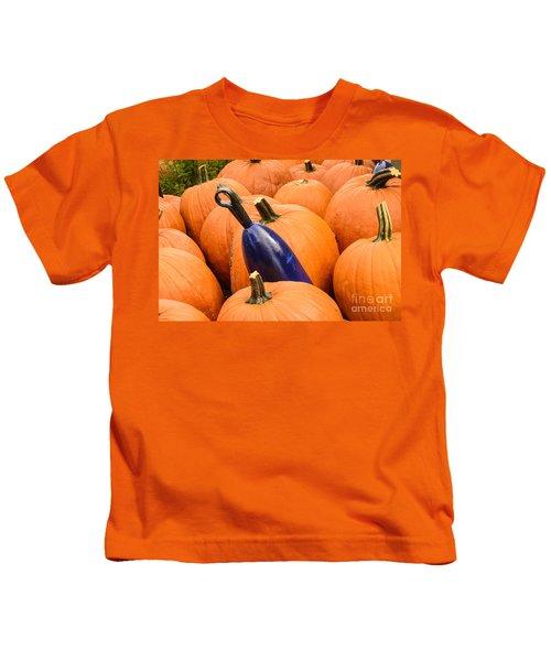 Buoy And Pumpkins Kids T-Shirt