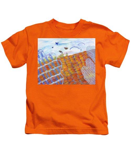 Butterfly's Wings Kids T-Shirt
