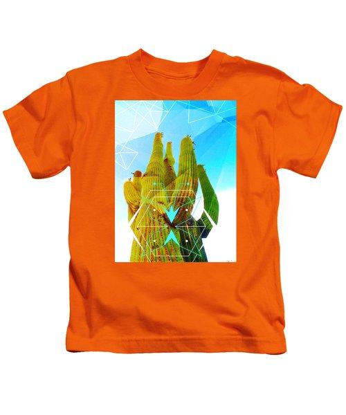 Cacti Embrace Kids T-Shirt