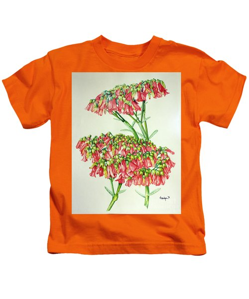 Cactus Flower 3 Kids T-Shirt
