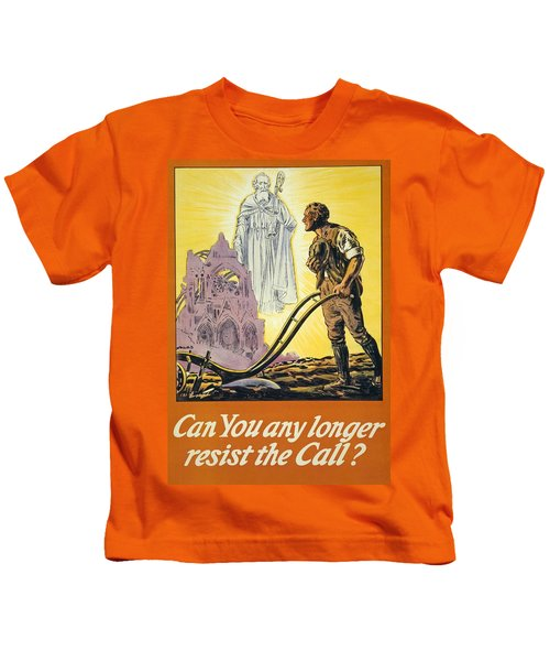 Can You Any Longer Resist The Call Kids T-Shirt