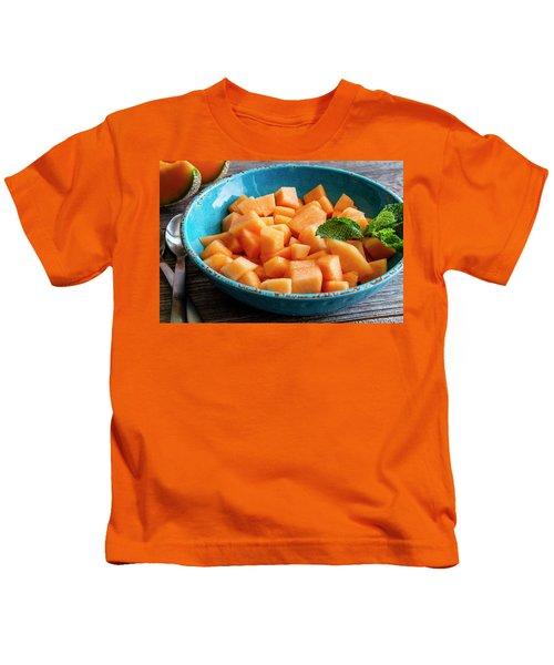 Cantaloupe For Breakfast Kids T-Shirt