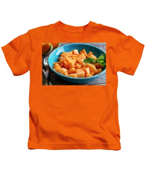 Cantaloupe For Breakfast Kids T-Shirt