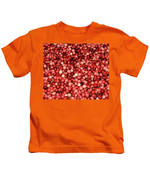 Cape Cod Cranberries Kids T-Shirt