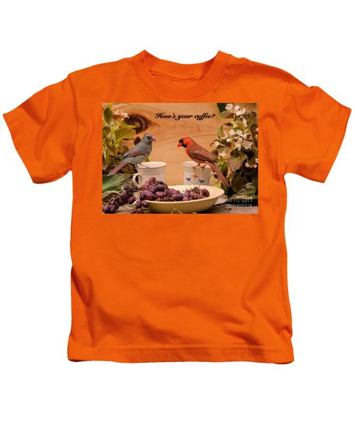 Cardinal Coffee Kids T-Shirt