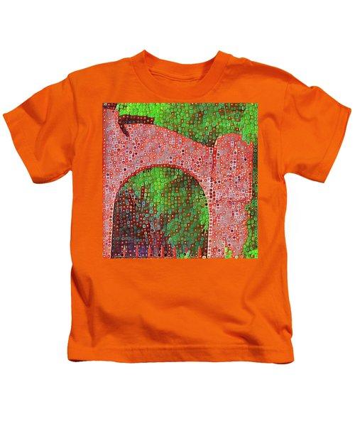 Cat On Enfield Kids T-Shirt