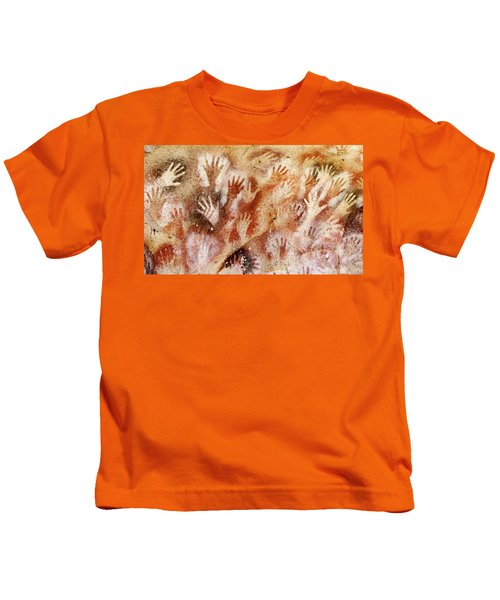 Cave Of The Hands - Cueva De Las Manos Kids T-Shirt