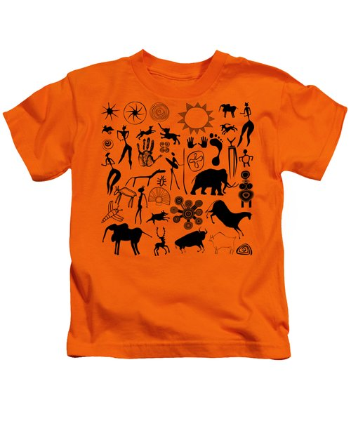 Cave Painting Kids T-Shirt