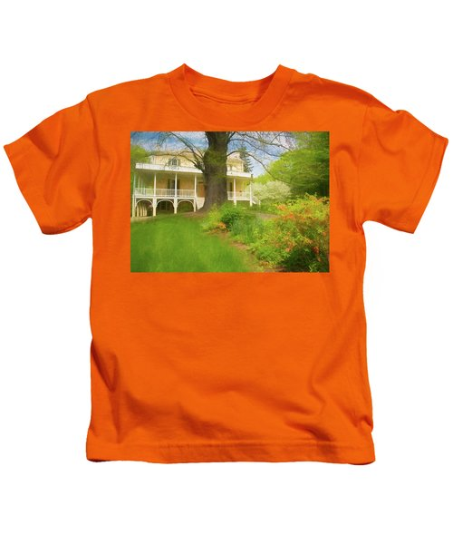 Cedar Grove In Spring Kids T-Shirt