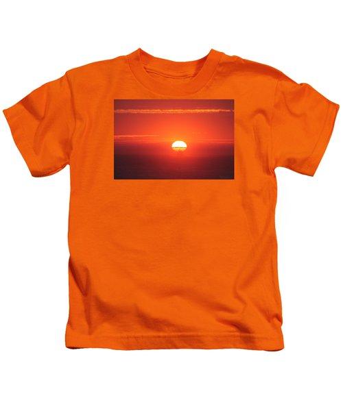 Challenging The Sun Kids T-Shirt