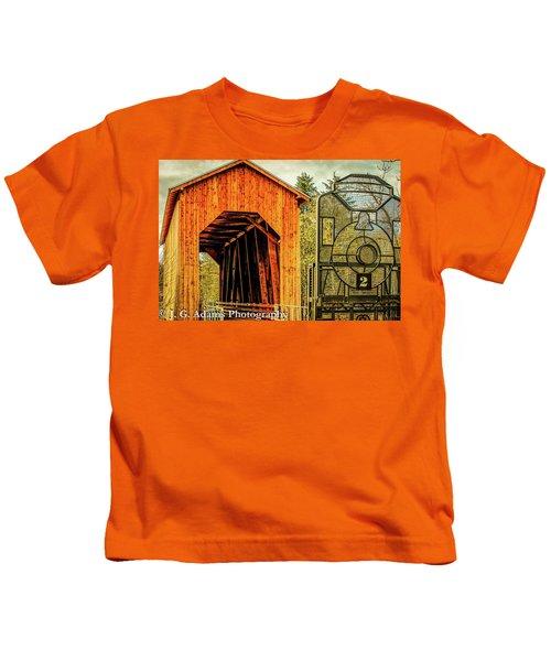Chambers Railroad Bridge Kids T-Shirt