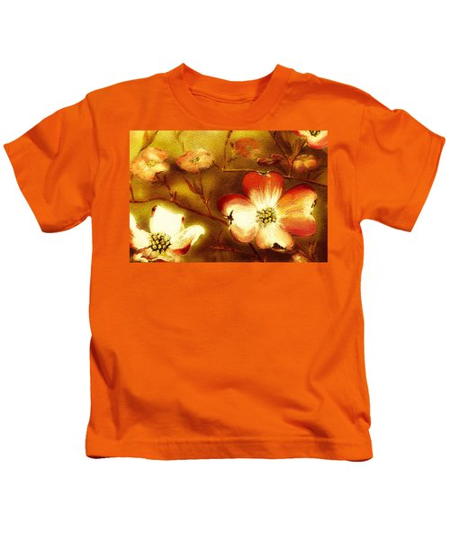 Cherokee Rose Dogwood - Glow Kids T-Shirt