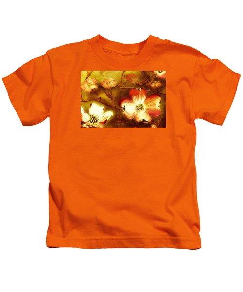 Cherokee Rose Dogwood - Glow Kids T-Shirt