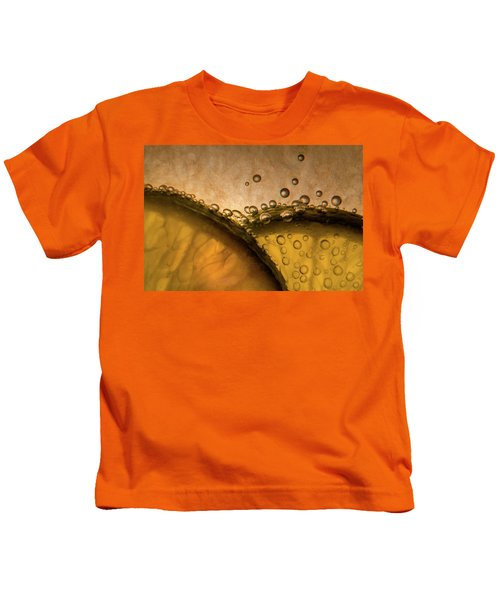 Citrus Abstract Kids T-Shirt