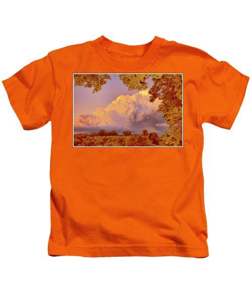 Clouds At Sunset, Southeastern Pennsylvania Kids T-Shirt