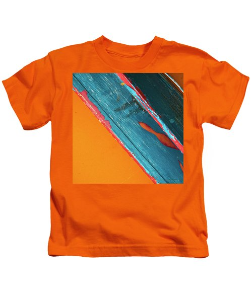 Color Abstraction Lxii Sq Kids T-Shirt
