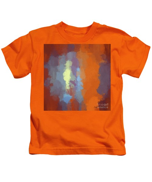 Color Abstraction Xxiii Sq Kids T-Shirt