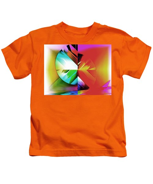 Color Of The Fractal Kids T-Shirt