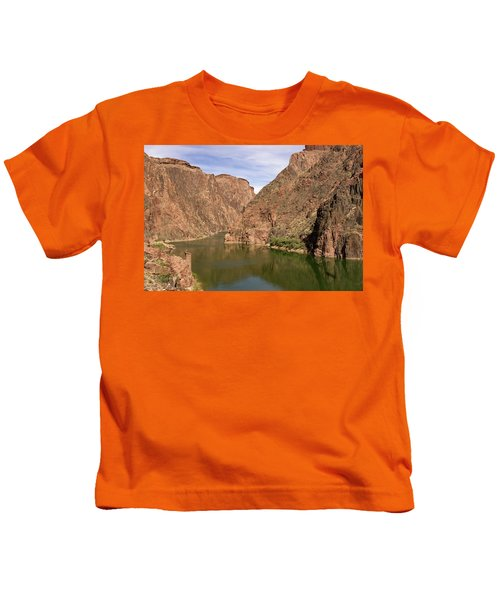 Colorado River, Grand Canyon Kids T-Shirt