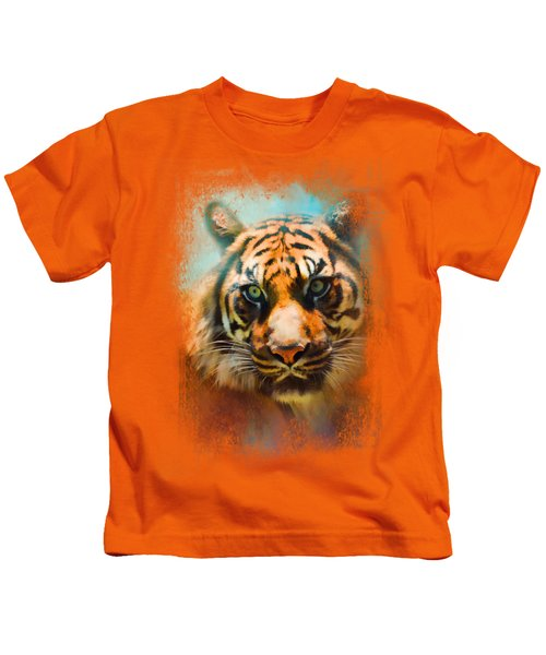Colorful Expressions Tiger 2 Kids T-Shirt