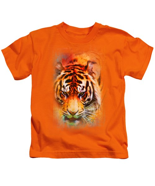 Colorful Expressions Tiger Kids T-Shirt