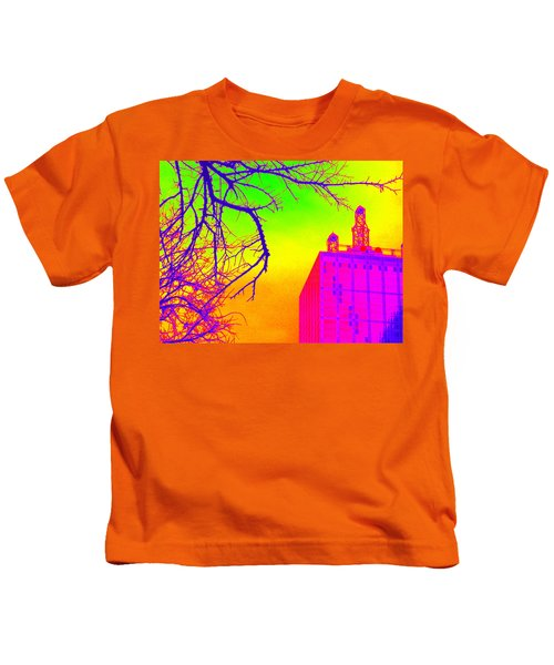 Dallas In Vivid Colors Kids T-Shirt