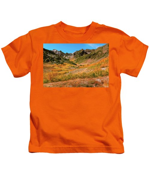 Colorful Mcgee Creek Valley Kids T-Shirt