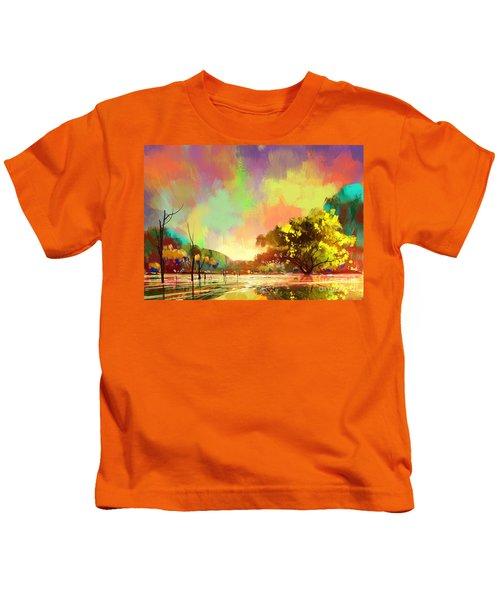 Colorful Natural Kids T-Shirt
