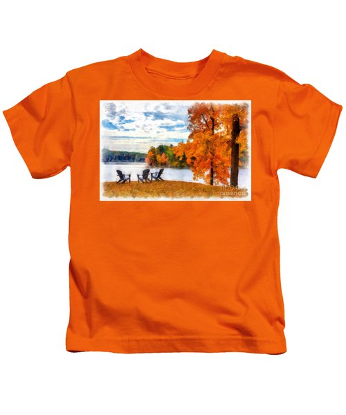 Come Sit For A While Kids T-Shirt