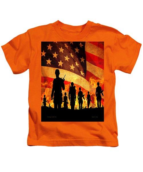 Courage Under Fire Kids T-Shirt