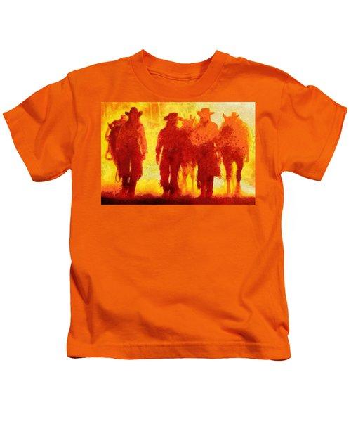 Cowpeople Kids T-Shirt