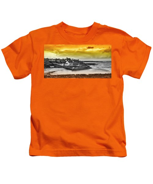 Crail Harbour Kids T-Shirt