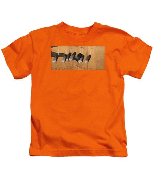Cranes Kids T-Shirt