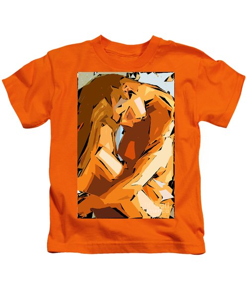 Cubism Series Ix Kids T-Shirt