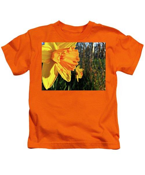 Daffodil Evening Kids T-Shirt