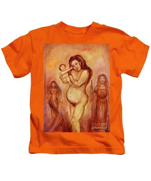 Dalaga, Ina, Mantanda Kids T-Shirt