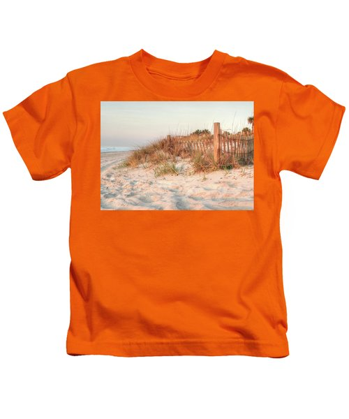 Dawn At 82nd Kids T-Shirt