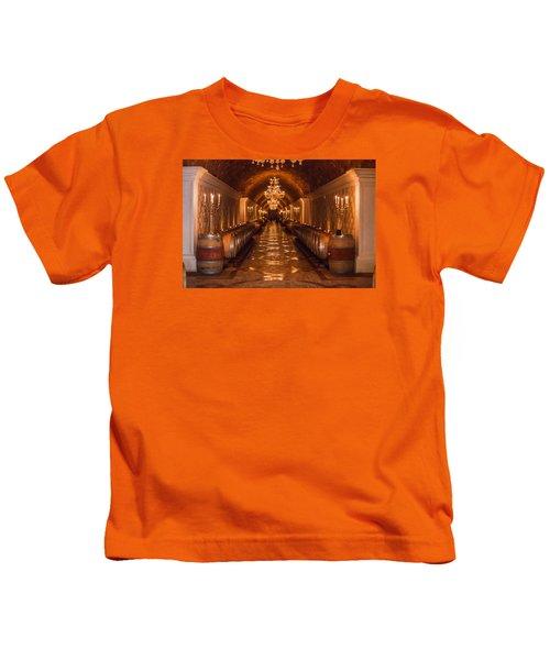 Del Dotto Wine Cellar Kids T-Shirt