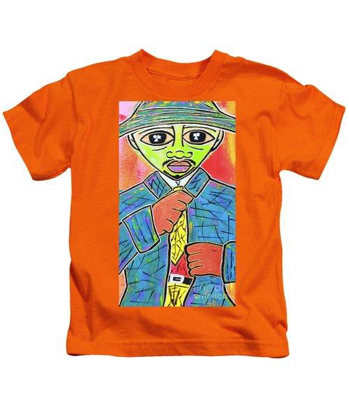 Dipped And Dapper Kids T-Shirt