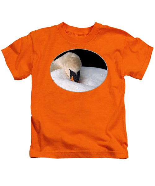 Do Not Disturb - Orange Kids T-Shirt
