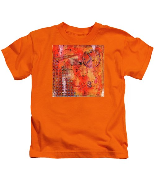 Dot Of Time Kids T-Shirt