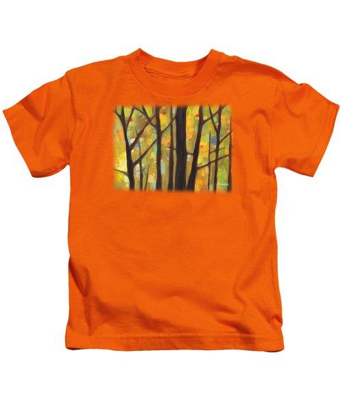 Dreaming Trees 1 Kids T-Shirt by Hailey E Herrera