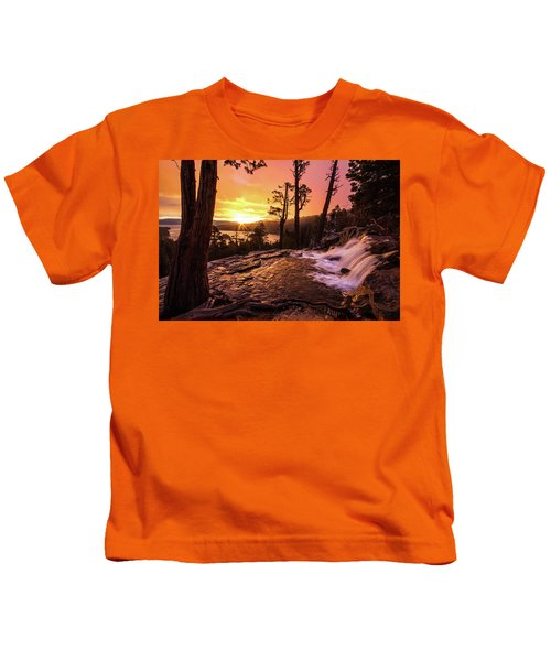 Eagle Falls Sunrise Kids T-Shirt