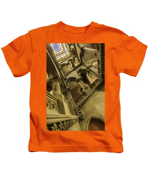 Eastern Staircase Kids T-Shirt