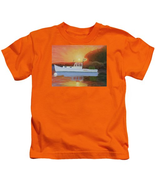 End Of A Work Day Kids T-Shirt