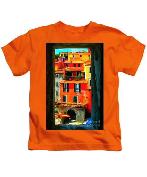Entry Way Painting Kids T-Shirt