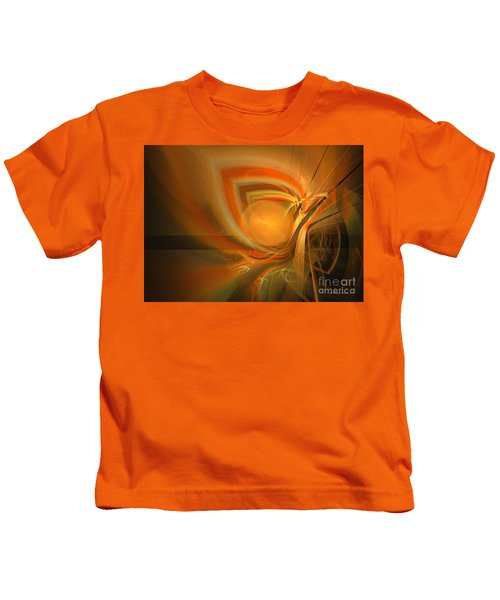 Equilibrium - Abstract Art Kids T-Shirt