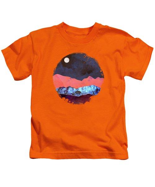 Evening Moon Kids T-Shirt